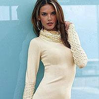 Теплое платье для холодной зимы